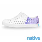 native 大童鞋 JEFFERSON 小奶油頭鞋-美式校園系列 x 珍珠紫
