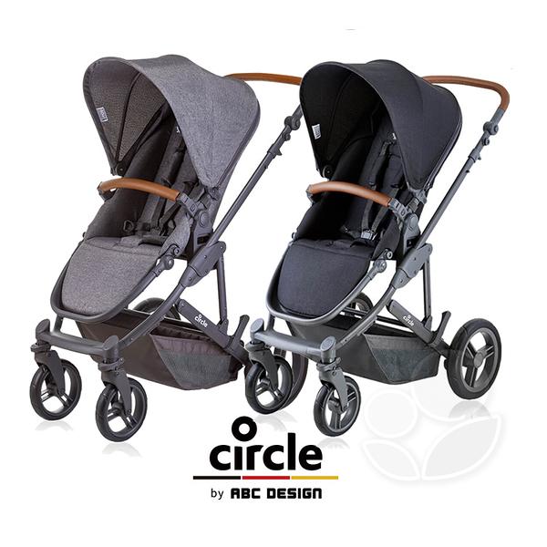Circle Catania 4 輕量歐系雙向手推車(經典黑/尊爵灰)【贈好禮三選一(備註)】【佳兒園婦幼館】