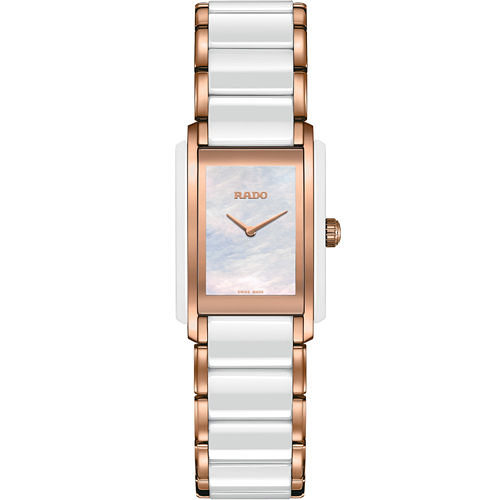 RADO Integral 精密陶瓷系列腕錶 R20844902 雙色