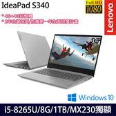 【Lenovo】 IdeaPad S340 81N70019TW 14吋i5-8265U四核MX230獨顯效能筆電-特仕版