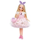 莉卡娃娃配件 莉卡衣服夢幻粉彩甜蜜化妝品洋裝組_LA17288