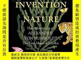 二手書博民逛書店自然的造物罕見洪堡的新世界 英文原版 The Invention