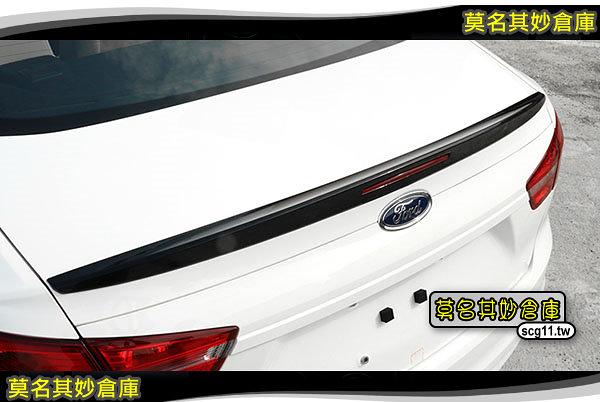 莫名其妙倉庫【SU019B 尾翼含反光片】高翹型 裝飾尾翼 烤漆另計 福特 Ford 17年 Escort