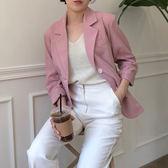 韓國空運OL西裝外套 正韓 版型非常好的西裝外套 艾爾莎 【TLS00331】