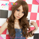 *MoKoShOp*特殊色美式休閒中長捲髮全頂假髮【LY22522】