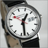 【萬年鐘錶】MONDAINE 瑞士國鐵皮錶 XM-669811