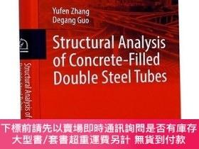 全新書博民逛書店Structuralanalysis of concrete-filled double steel tubes奇