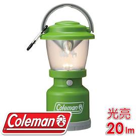【Coleman 美國 MY LED 22304 營燈 森林綠】CM-22304/氣氛燈/登山照明燈/餐桌燈/夜燈