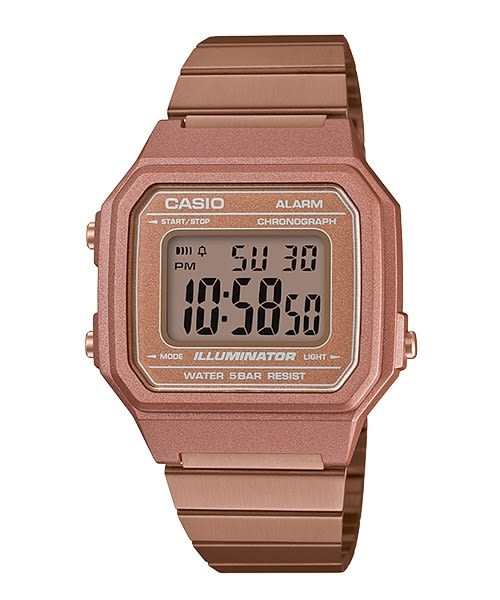 【CASIO宏崑時計】CASIO卡西歐復古運動電子錶 B650WC-5A 50米防水 台灣卡西歐保固一年