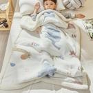 兒童毛毯加厚冬季羊羔絨小被子學生幼兒園午睡寶寶嬰兒珊瑚絨毯子 夢幻小鎮ATT