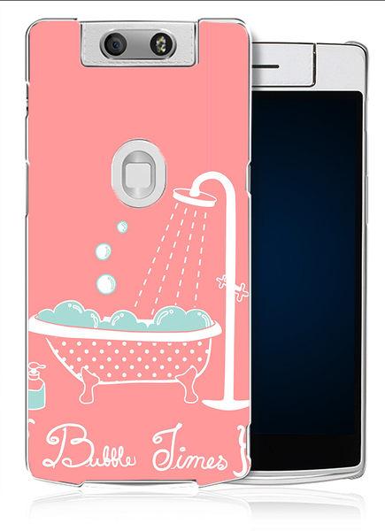 ✿ 3C膜露露 ✿【粉紅浴缸*水晶硬殼】OPPO N3手機殼 手機套 保護套 保護殼