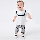 短袖套裝 休閒印花短袖上衣短褲休閒套裝 居家服 兒童套裝 短袖運動套裝 LYT28