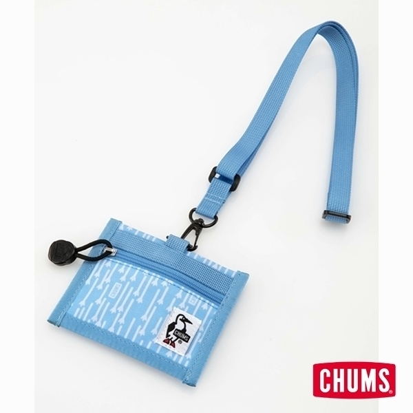 CHUMS Eco ID Card Holder 證件帶 印花/雨滴 CH602488Z111【GO WILD】