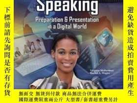 二手書博民逛書店Public罕見Speaking: Preparation And Presentation In A Digit