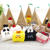 聖誕禮物 毛巾襪子禮盒 伴手禮 聖誕盒裝中筒毛巾襪子 現貨+預購 推薦《SV5452》HappyLife