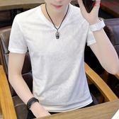男士冰絲T恤夏季短袖速干薄款修身透氣衫