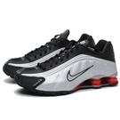 NIKE 籃球鞋 SHOX R4 黑銀 ...