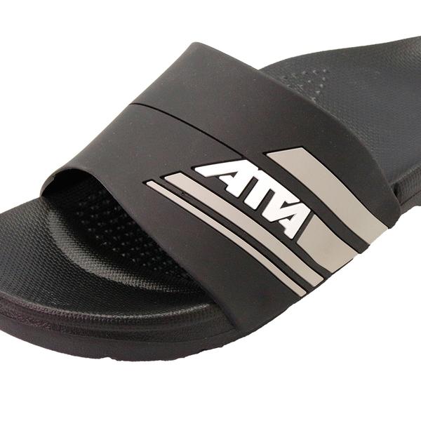 【333家居鞋館】足壓分散 ATTA流線均壓拖鞋-黑灰