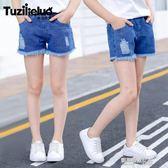 兒童裝女童牛仔短褲夏季薄款新款中大童韓版夏裝女孩洋氣褲子  凱斯盾數位3c