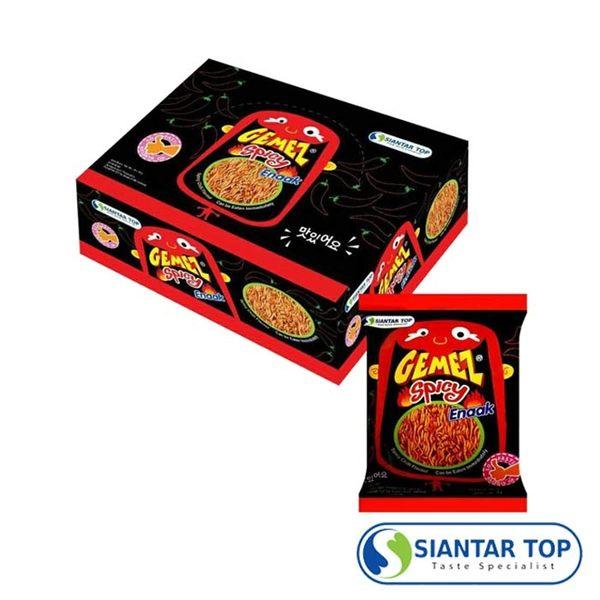 韓國 Enaak 辣味小雞點心麵 香脆點心麵 (14g×30包/盒) 隨手包 點心脆麵 小雞點心麵 小雞麵
