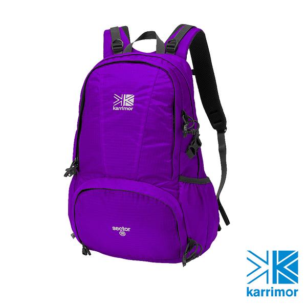 日系[ Karrimor ] sector 25 休閒登山後背包  紫羅蘭