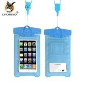 驢出沒手機通用防水袋潛水套觸屏防雨防塵手機袋oppo蘋果華為vivo 至簡元素
