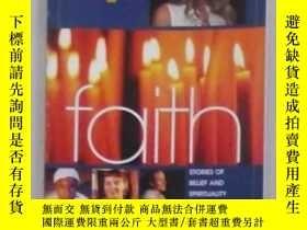 二手書博民逛書店英文原版罕見Teen People: Faith by Mega
