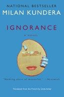 二手書博民逛書店 《Ignorance: A Novel》 R2Y ISBN:9780060002107│Harper Collins