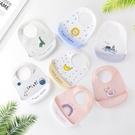 嬰幼兒矽膠圍兜 寶寶吃飯立體飯兜 兒童防水防髒接飯飯兜 88494