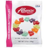 美國 Albanese 艾爾巴 迷你蝴蝶造型軟糖(100g)【小三美日】進口 / 團購 / 零嘴