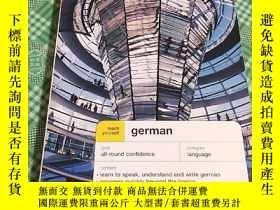 二手書博民逛書店英文原版罕見Teach Yourself German: Com