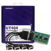 【超人百貨K】UPTECH UT404 4-Port RS-232 擴充卡