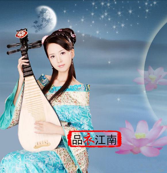 品衣江南/藍色太平公主