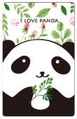 【悠遊卡貼紙】LOVE PANDA # 悠遊卡/e卡通/感應卡/門禁卡/識別證/icash/會員卡/多用途卡片型貼紙