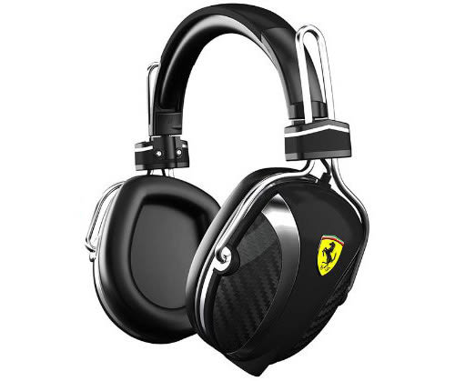 福利全新品 Ferrariby Logic3 Scuderia P200 黑色 法拉利耳機,分期0利率