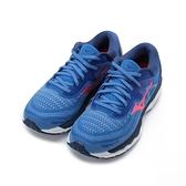 MIZUNO WAVE SKY 4 慢跑鞋 藍桃 J1GD200262 女鞋