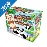 義美熊貓雪糕-牛奶+巧克力60G*5支【愛買冷凍】