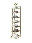 簡易鞋架子鐵藝多層家用室內好看經濟型省空間窄小門口收納小鞋櫃 【4-4超級品牌日】