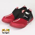 日本 IFME Water Shoes 排水涼鞋 紅黑 魔鬼氈 小中童 NO.R3867