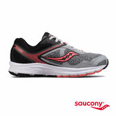 SAUCONY COHESION 10 專業訓練鞋款-黑x灰x粉橘