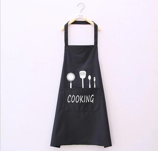 3色 北歐風圍裙 防水防油圍兜兜 家居半身圍裙【K152】布藝廚房烘焙圍裙手工藝圍裙男女圍裙