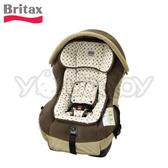 【限量特價】Britax Royale II 0-4歲汽車安全座椅/汽座 -咖啡圓點