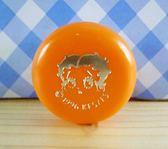 【震撼精品百貨】Betty Boop_貝蒂~外出分裝圓罐-橘色
