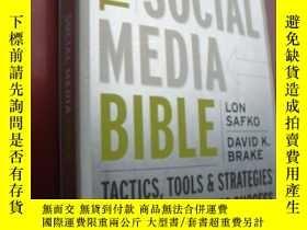 二手書博民逛書店The罕見Social Media Bible: Tactics