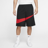 NIKE DRI-FIT 黑 紅 大勾勾 吸濕排汗 籃球褲 休閒 短褲 男 (布魯克林) BV9386-010