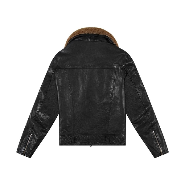 Deus Ex Machina Nail Leather Jacket 皮外套-男/女(黑)