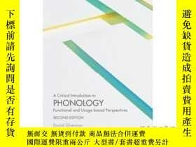 二手書博民逛書店A罕見Critical Introduction to Phonology: Func...-音韻學概論:功能。。