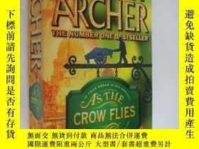 二手書博民逛書店As罕見the crow flies 烏鴉正飛 近新Y85718