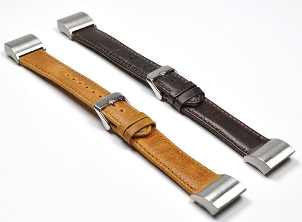 Fitbit charge 2 智慧手錶 手環 真皮瘋馬紋牛皮錶帶 錶帶 腕帶 Fitbit charge2 智能手環表腕帶