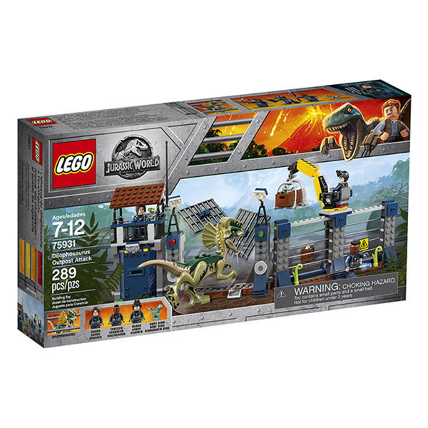 【LEGO 樂高積木】Jurassic World 侏儸紀世界系列 - Dilophosaurus Outpost Attack - LT-75931